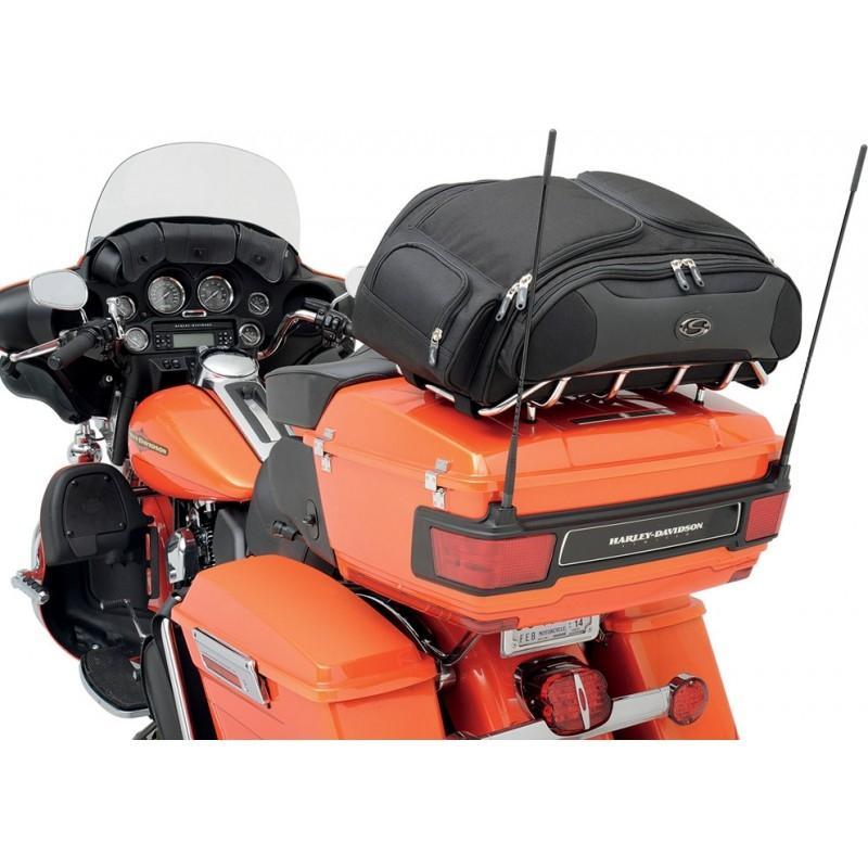 Sac de porte-bagages Saddlemen FTB3300 noir - 1