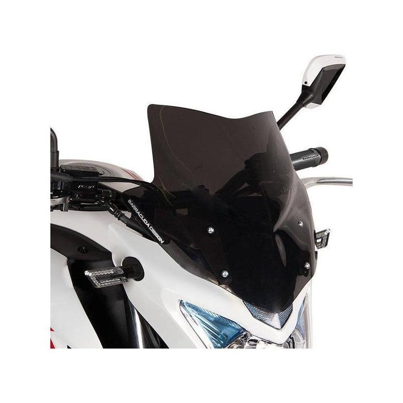 Saute-vent Barracuda Aerosport fumé Honda CB 500 F 13-15
