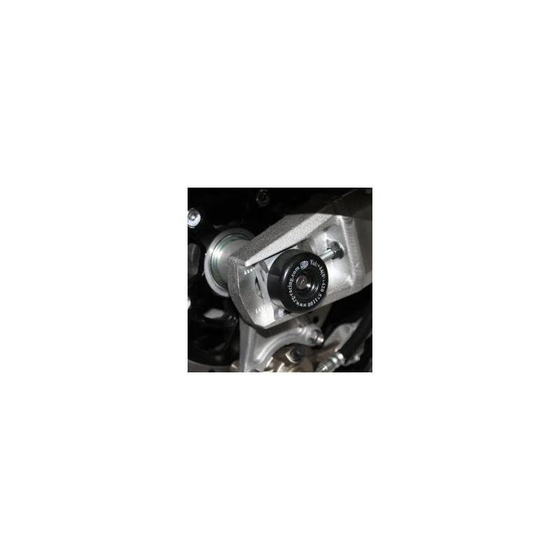 Tampons de bras oscillant R&G Racing noir Suzuki GSX 1400 01-07