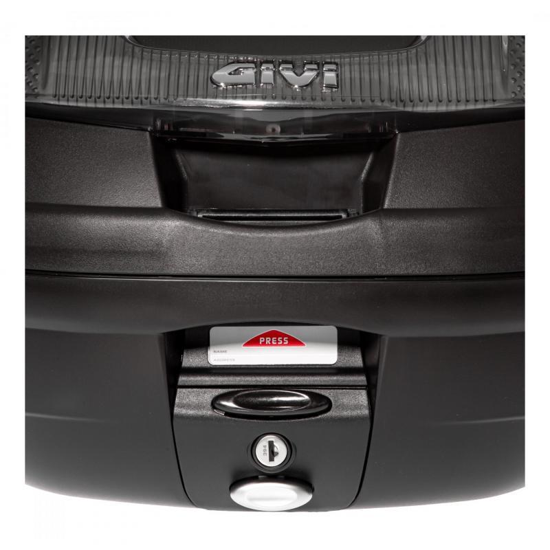 Top case Givi E340 Vision monolock catadioptres fumés avec platine/kit fixation - 4