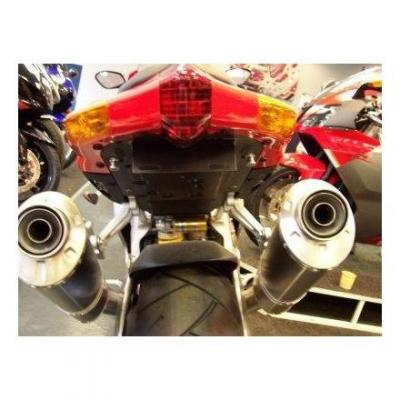 Support de plaque d'immatriculation R&G Racing noir Honda X-ADV 750 17-18