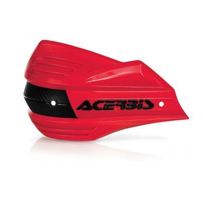 Plastiques de remplacement Acerbis pour protège-mains X-Factor rouge (paire)