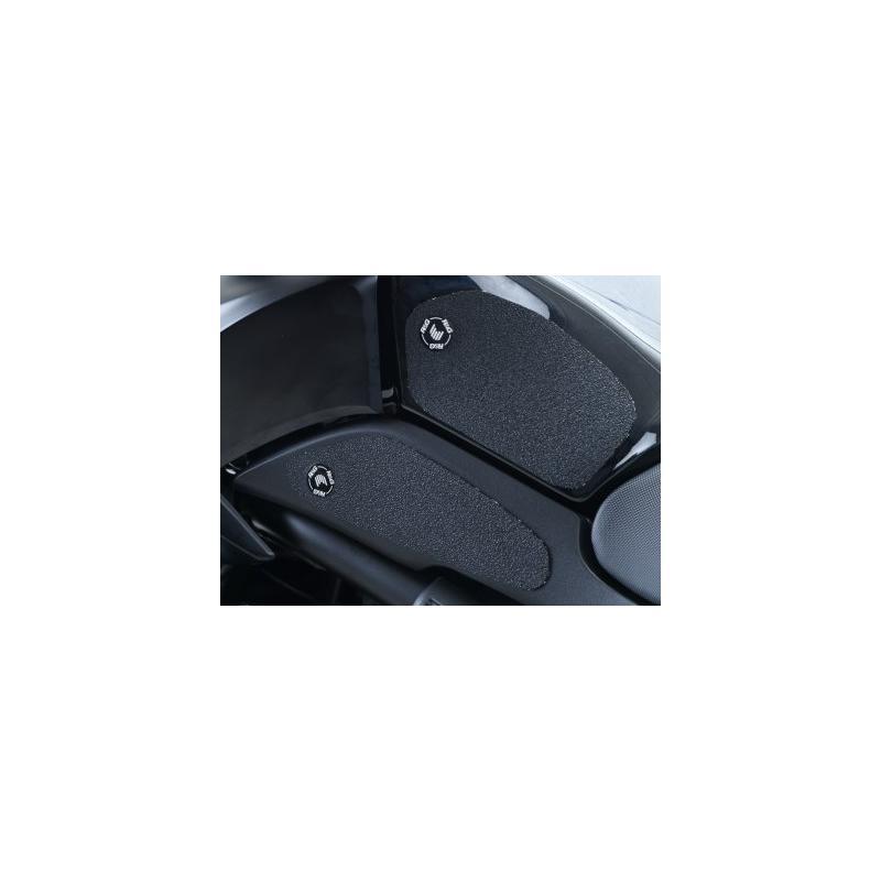 Kit grip de réservoir R&G Racing noir Kawasaki Versys 650 15-16