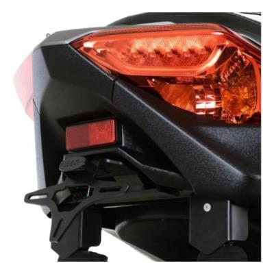 Support de plaque d'immatriculation R&G Racing noir Yamaha X-Max 300 17-18