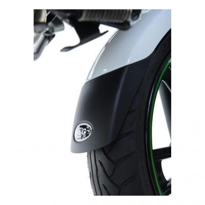 Extension de garde-boue avant R&G Racing noir Kawasaki Ninja H2 SX 18-20