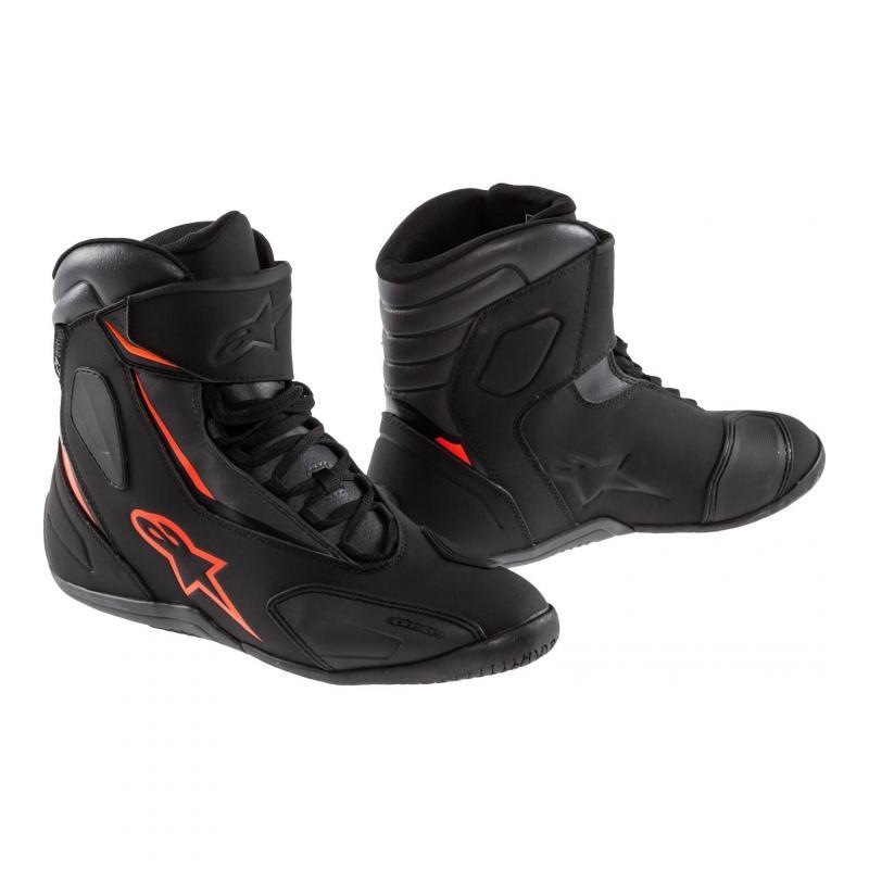 Chaussures Alpinestars FASTBACK V2 DRYSTAR noires/anthracite/rouge