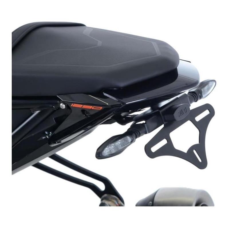 Support de plaque d'immatriculation R&G Racing noir KTM 1290 Super Duke R 17-18