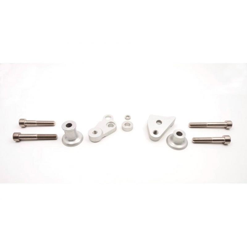 Kit fixation tampon de protection LSL Kawasaki ZX-6R 09-11