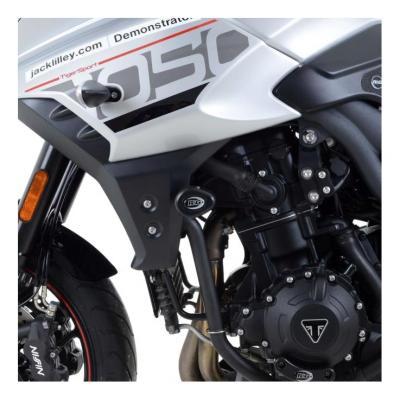 Tampons de protection R&G Racing Aero noir Triumph Tiger 1050 Sport 16-18
