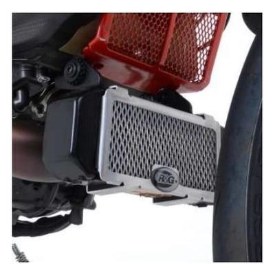 Protection de radiateur d'huile noire R&G Racing noir Ducati Hypermotard 950 19-21
