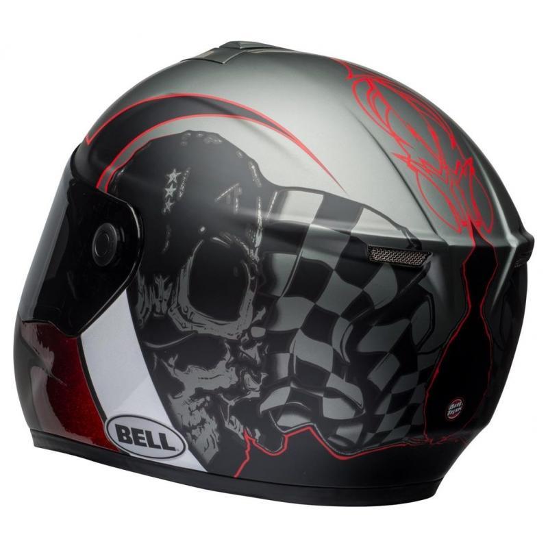 Casque intégral Bell SRT Hart-Luck Skull - 6