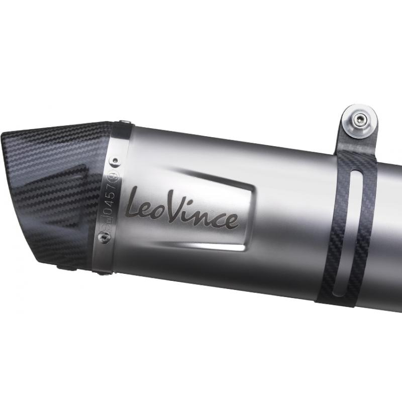 Ligne complète catalysée Leovince LV One inox Honda CB 125 R 18-19 - 3