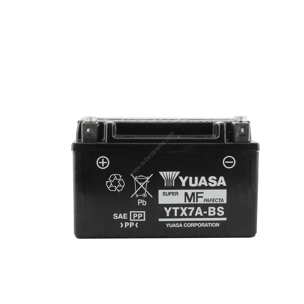 batterie yuasa ytx7a bs 12v 6ah sans entretien batteries yuasa. Black Bedroom Furniture Sets. Home Design Ideas
