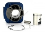 Cylindre piston D.40 Carenzi Fonte Typhoon Bleu 50cc