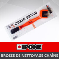 Brosse de nettoyage de chaîne Ipone