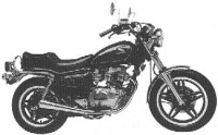 Honda CM 400 C Custom