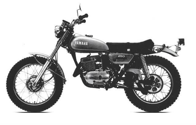 accessoires et pi ces yamaha 250 dt2 la b canerie moto. Black Bedroom Furniture Sets. Home Design Ideas