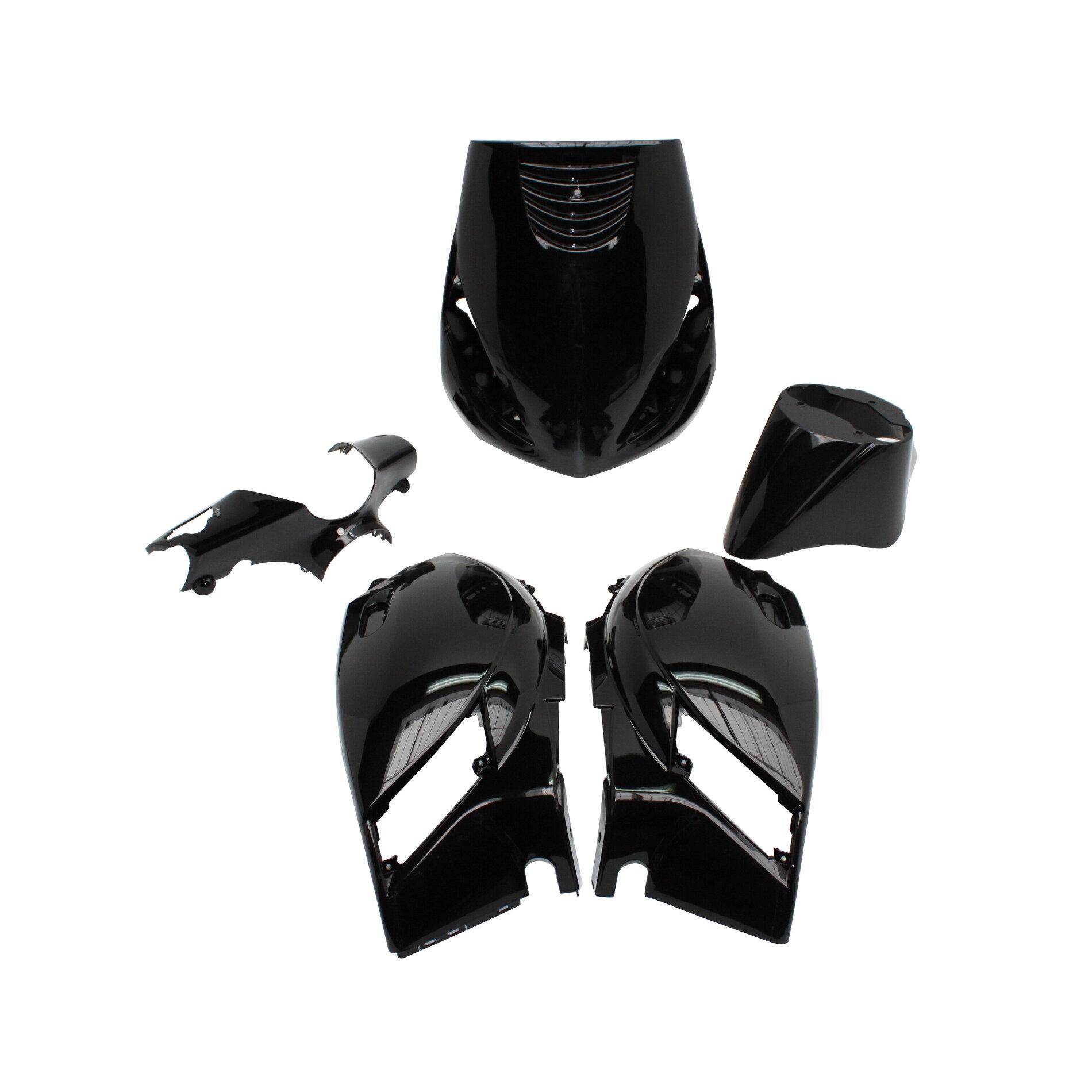 Kit habillage type origine Piaggio Zip 2000> - Noir
