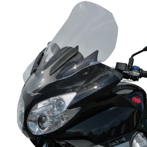Pare-brise Bullster haute protection 63 cm incolore Moto Guzzi 1200 No