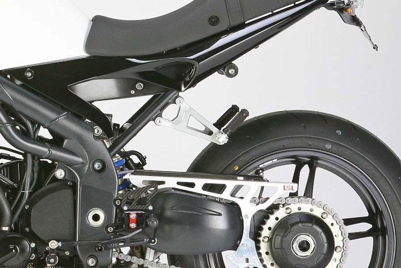 Commandes reculées LSL Standard arrière Triumph Speed Triple 1050 05-1