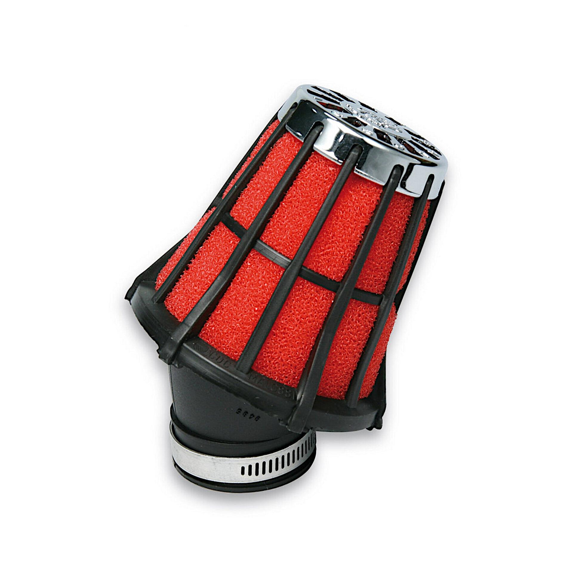 Filtre à air Malossi Red Filter E5 D.38 incliné 30