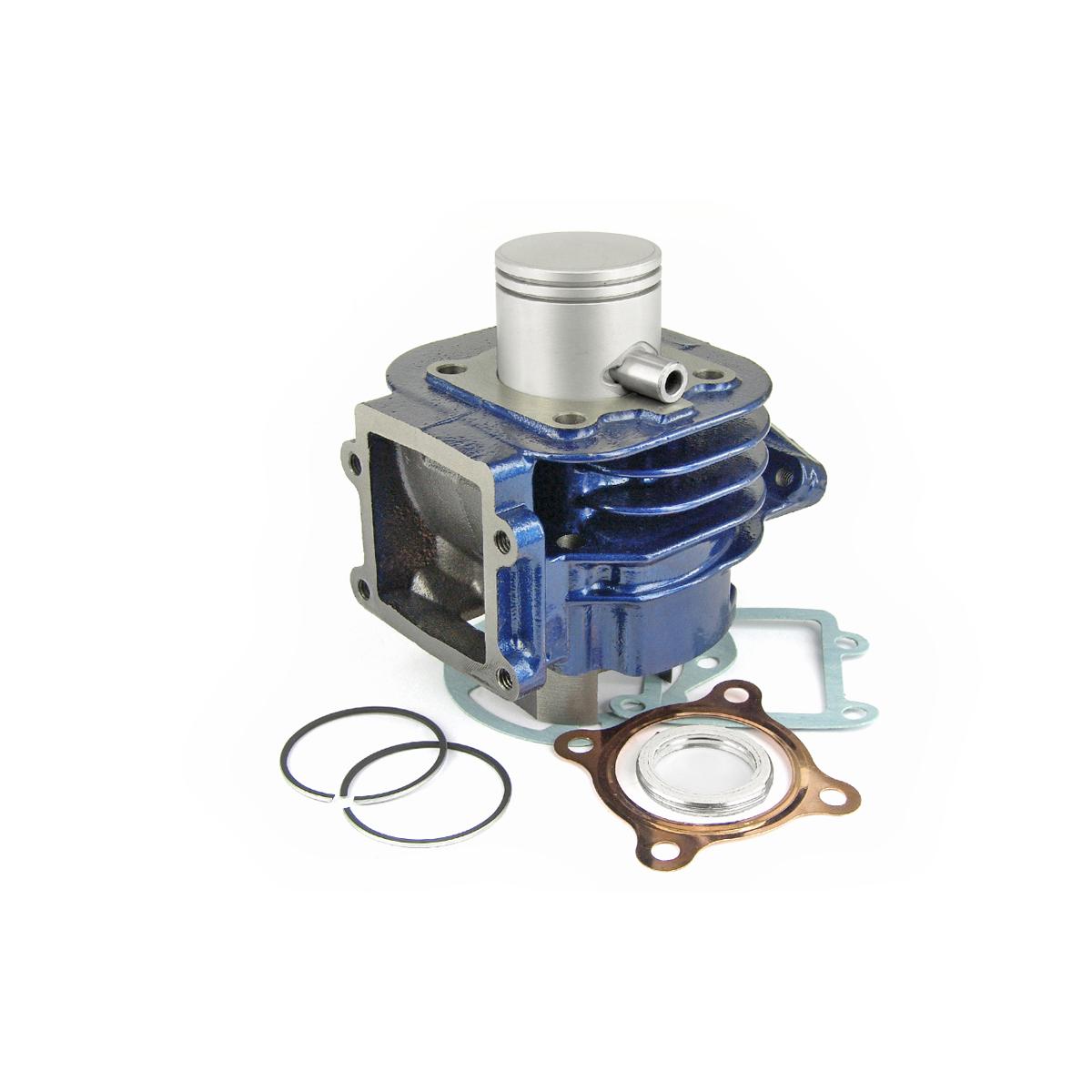 Cylindre Carenzi D.40 Fonte Booster Bleu 50cc