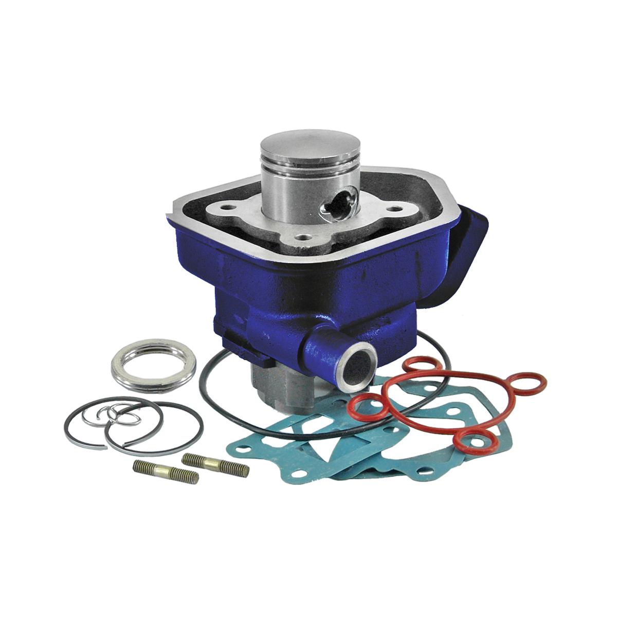 Cylindre Carenzi D.40 Fonte Speedfight Lc Bleu 50cc