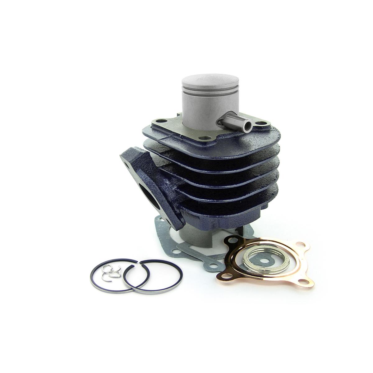 Cylindre Carenzi D.40 Fonte Ovetto Bleu 50cc