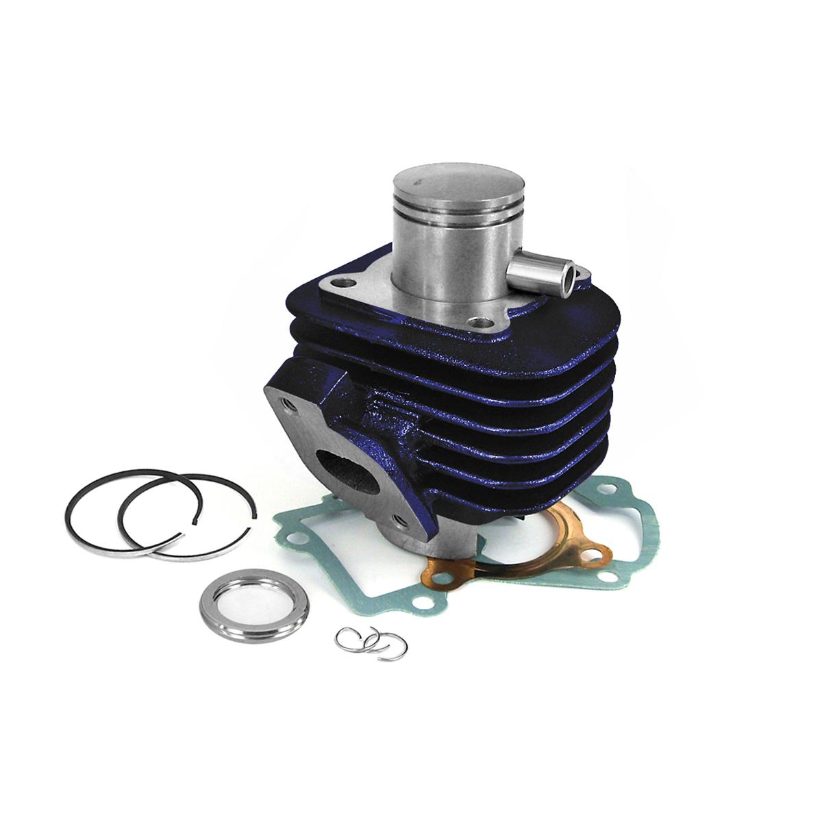 Cylindre D.40 Carenzi Fonte Scooter CPI Bleu 50cc
