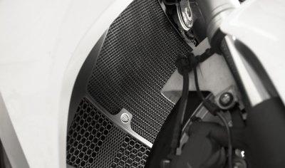 Protection de radiateur noire R&G Racing Honda VFR 1200 DCT 10-16