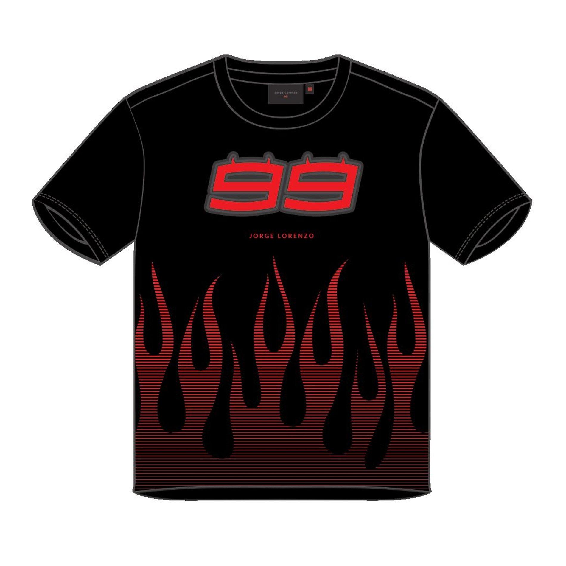 T-Shirt enfant Jorge Lorenzo Kid noir - 2/3 ans