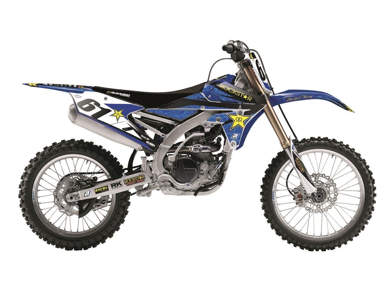 Kit déco BlackBird Factory Rockstar Energy Yamaha 250 YZ-F 14-17