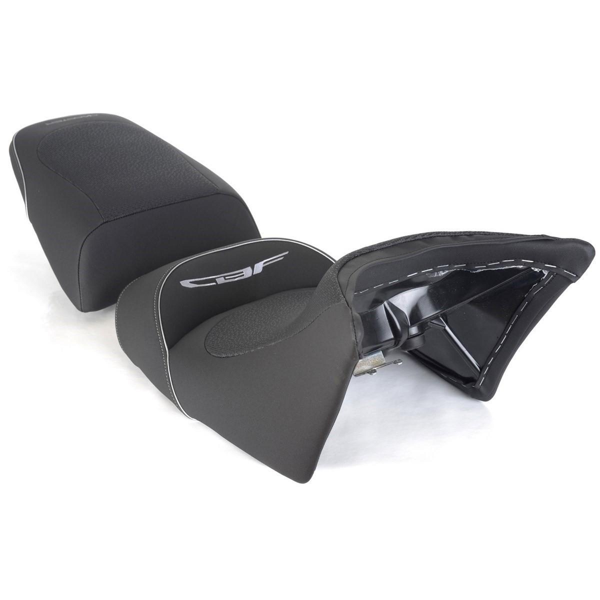 Selle Bagster Ready Honda CBF 600 / CBF 1000 08-15 noir liseré argent