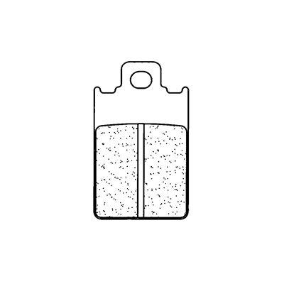 Plaquettes de frein Carbone Lorraine 2260X59