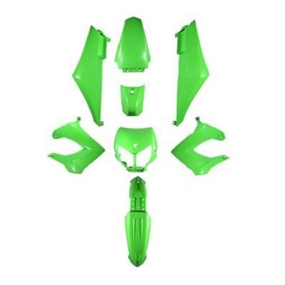 Kit habillage TunR vert Derbi Senda X-trem 2000-11/DRD -06
