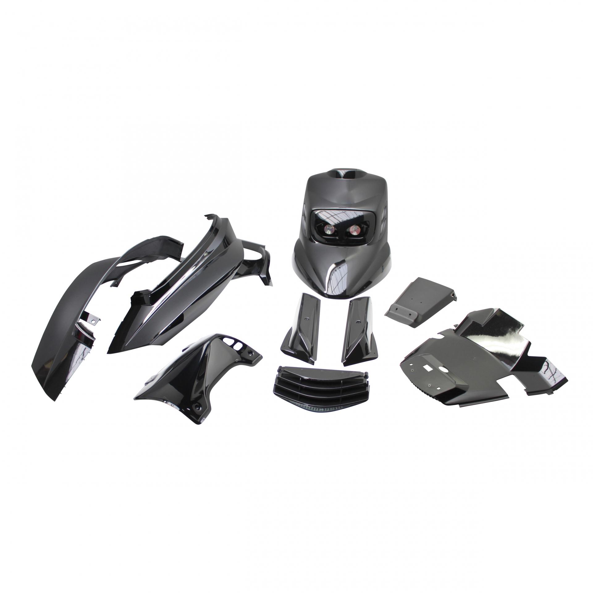 Kit habillage BCD v1 MBK Booster 04- - Noir
