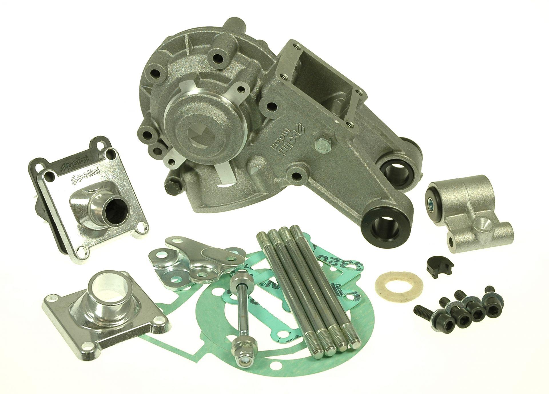 Carter Moteur Nu Polini Peugeot 103 SPX-RCX (support intégré)
