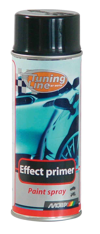 Bombe peinture Effet primer tuning noir Motip 400 ml M06013