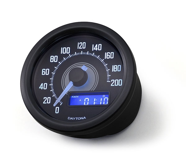 Compteur de vitesse LSL Daytona noir