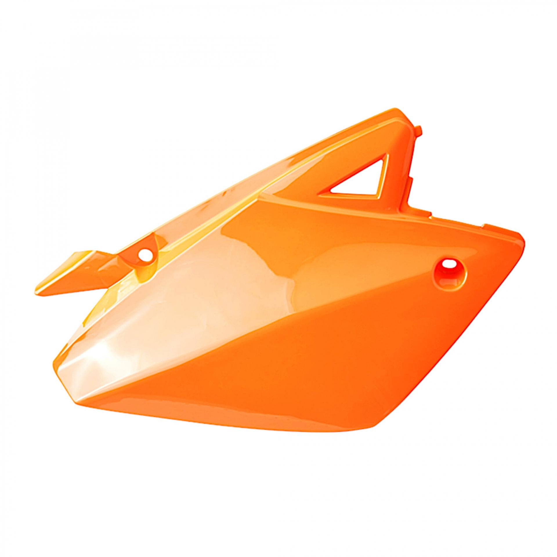 Coque arrière droite Rieju 50 MRT / MRT Pro 09- orange