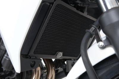 Protection de radiateur R&G Racing noir Honda CB 500 X 14-18