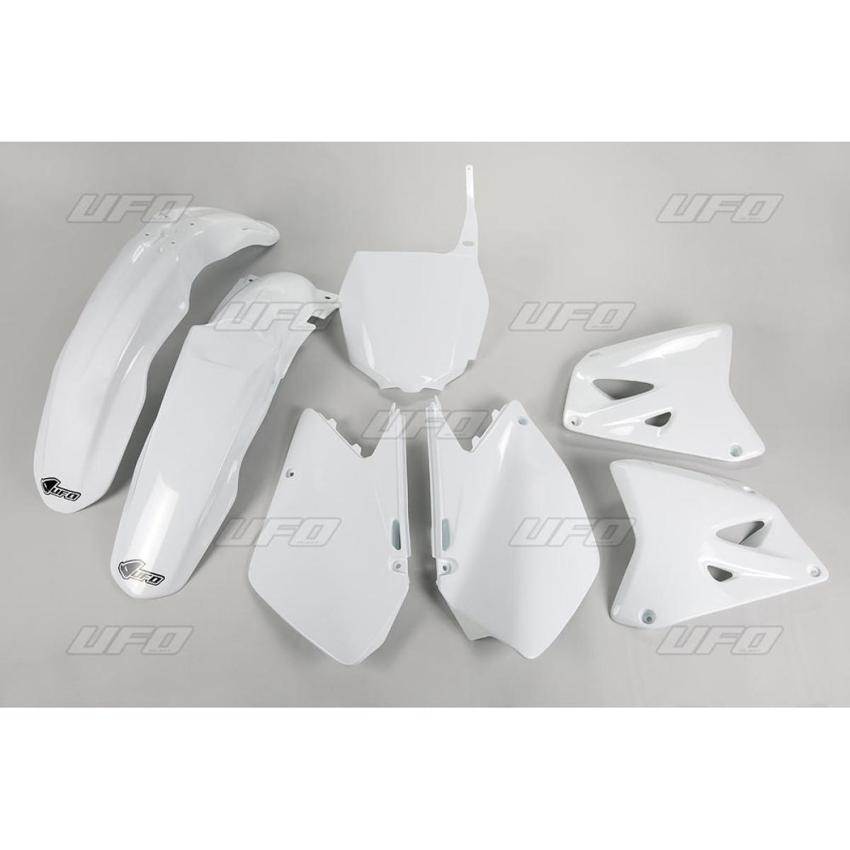Kit plastique UFO Suzuki 125 RM 06-08 blanc