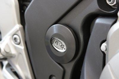 Insert de cadre droit R&G Racing noir Honda VFR 1200 X Crosstourer 12-
