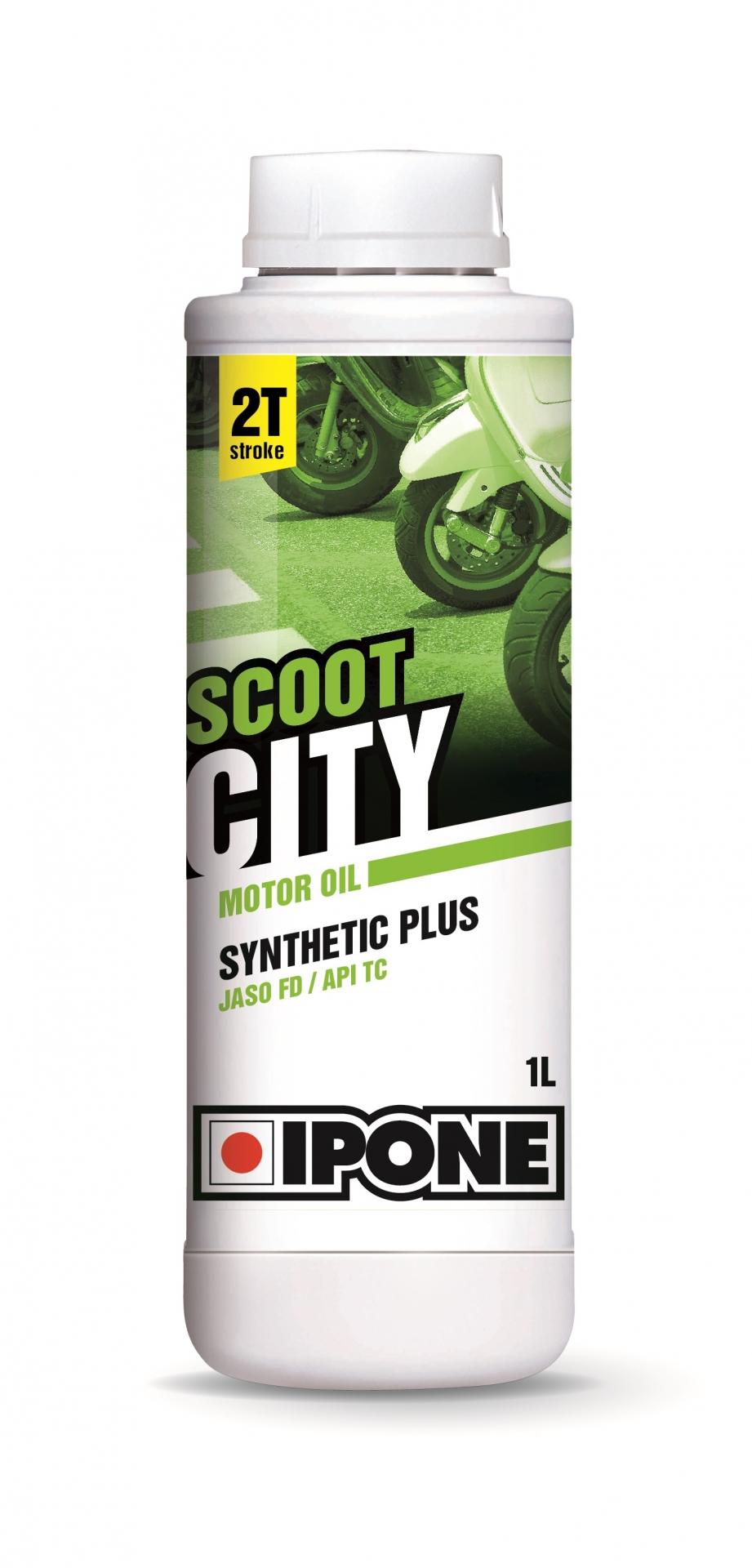 Huile moteur 2T Ipone Scoot City - 1L