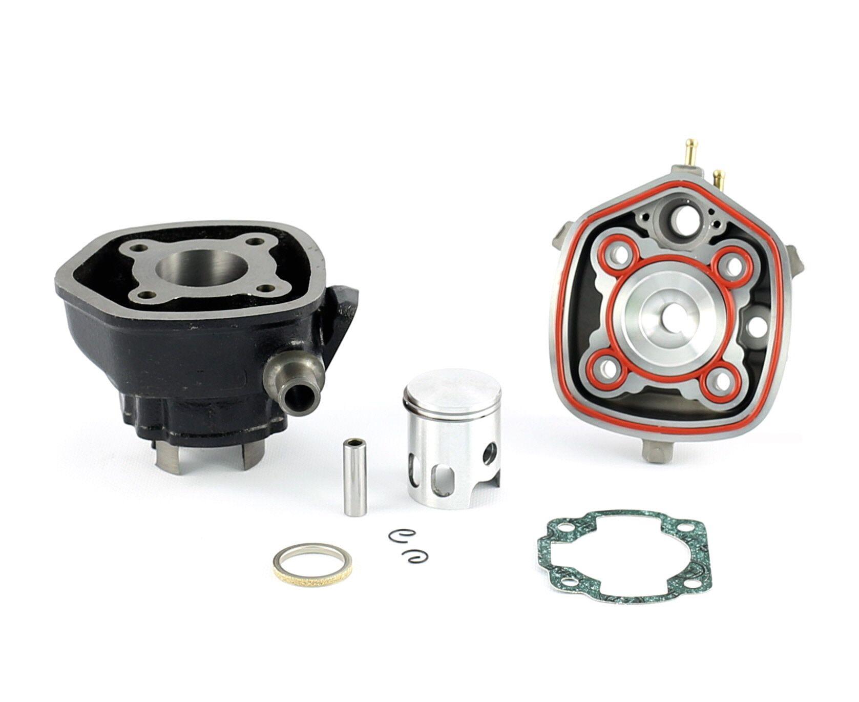 Cylindre Culasse D.40 Barikit Fonte MBK Nitro/Yamaha Aerox LC 50cc