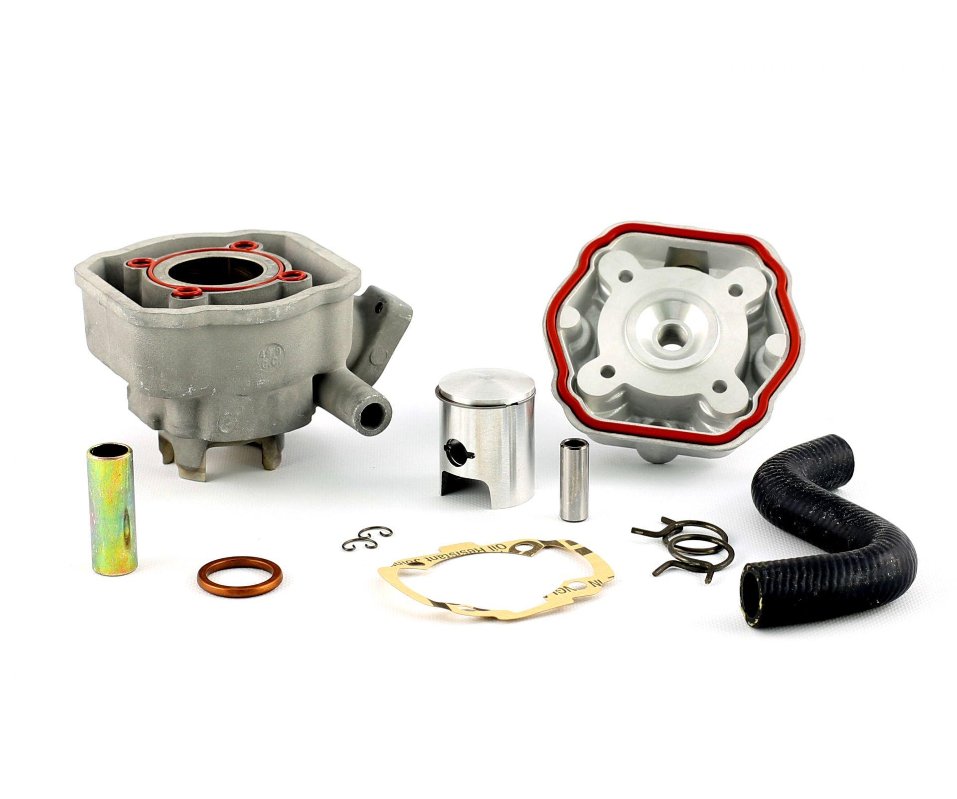 Cylindre Culasse D.40 Barikit Aluminium Peugeot Speedfight LC 50cc
