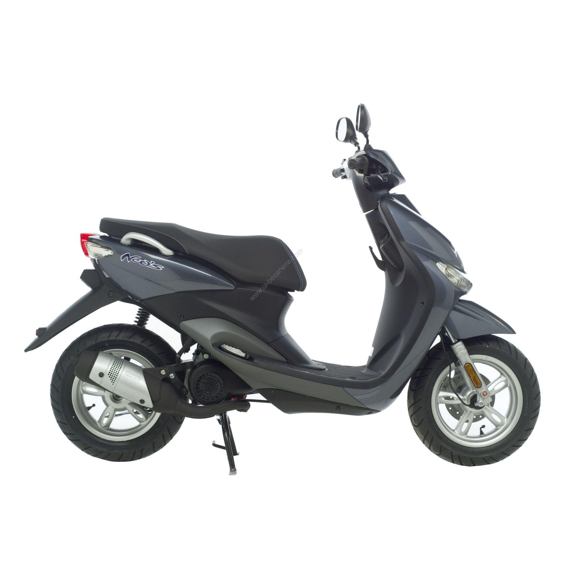 Pot déchappement scooter Leovince Touring pour Yamaha Neos 50 02-12