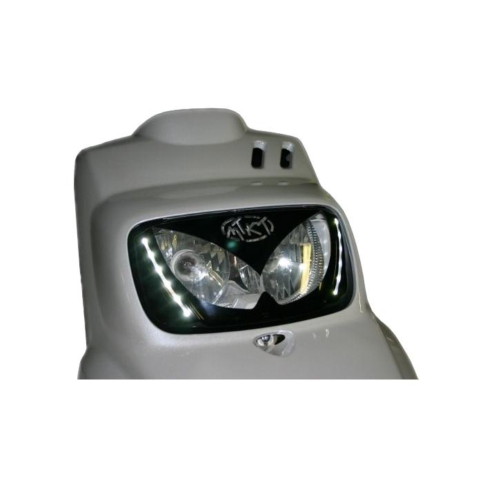 Masque d'optique MTKT avec leds Booster / Bw's - Gris