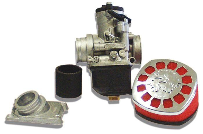 Kit carburateur Malossi PHBH D.26 complet montage souple Derbi Senda