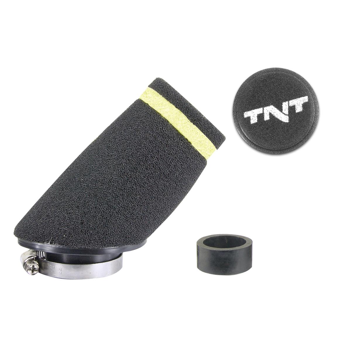Filtre à air TNT mousse small 30 ø28/35 noir